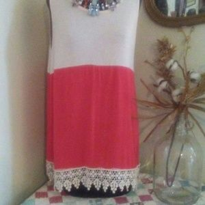 Tops - Just In Sleeveless Tunic Top
